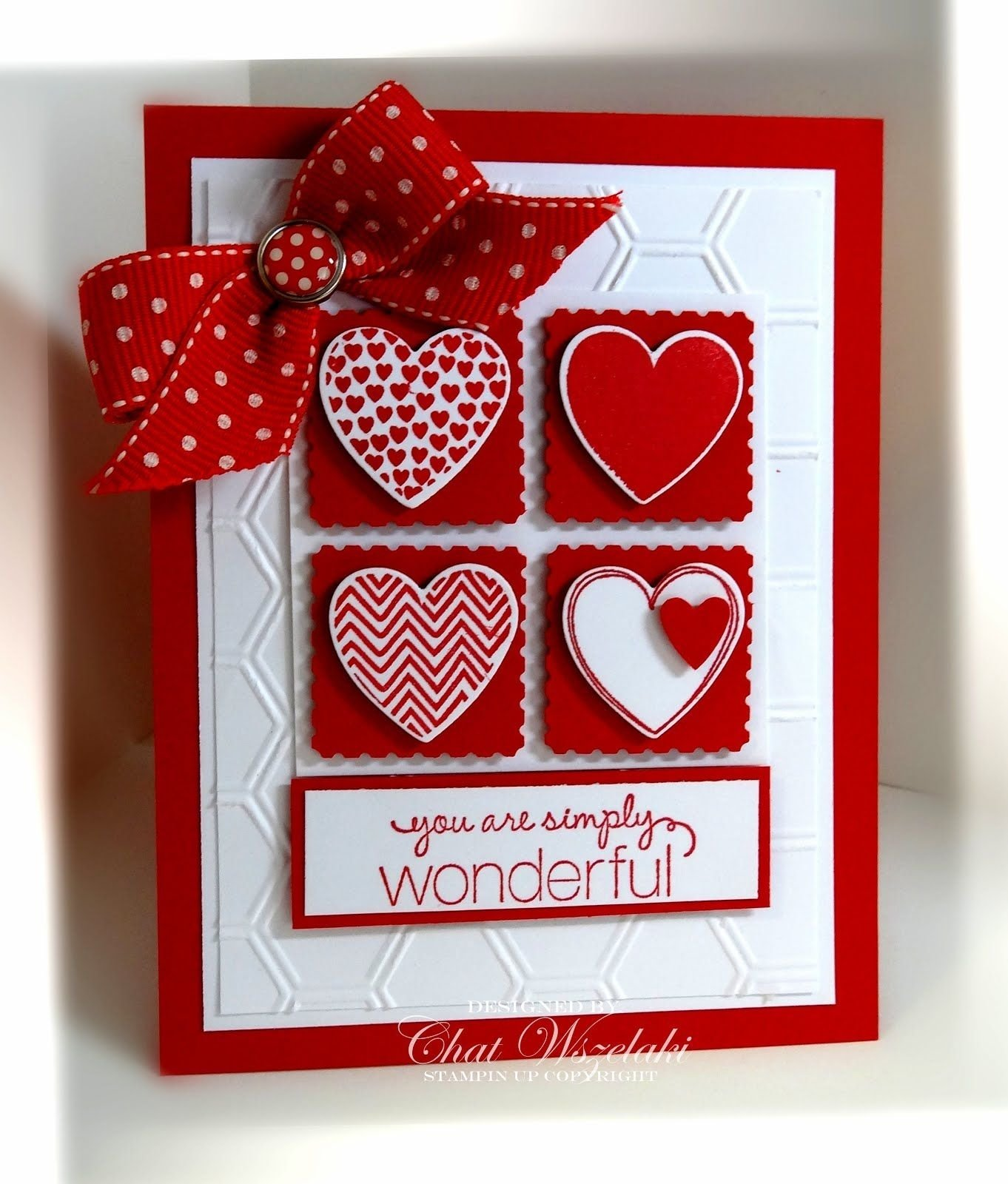 10 Fashionable Stampin Up Valentine Card Ideas hearts a flutter cards squares and card ideas 2020