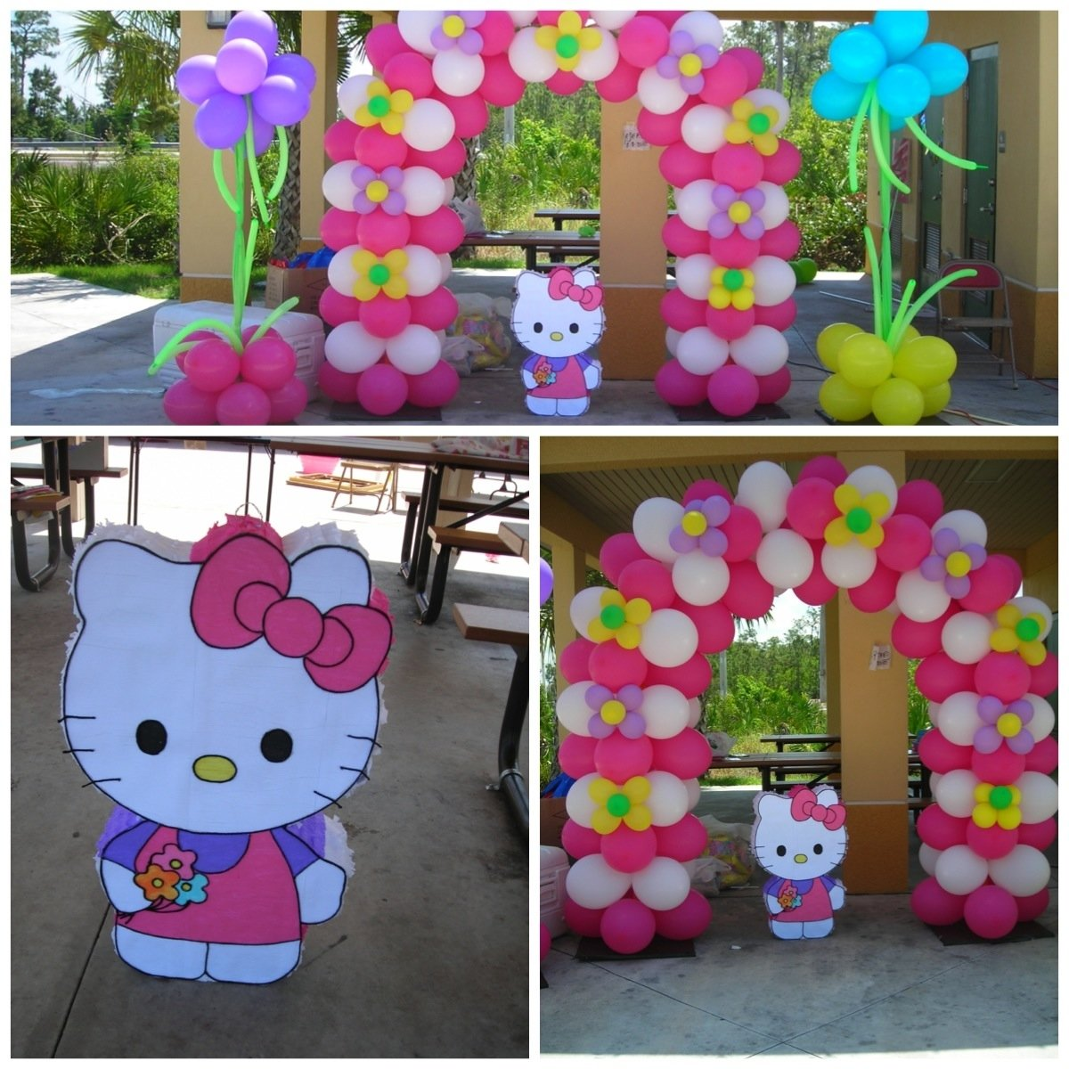 10 Unique Hello Kitty Party Decoration Ideas hello kitty balloon decorations balloon decorations by teasha 2021