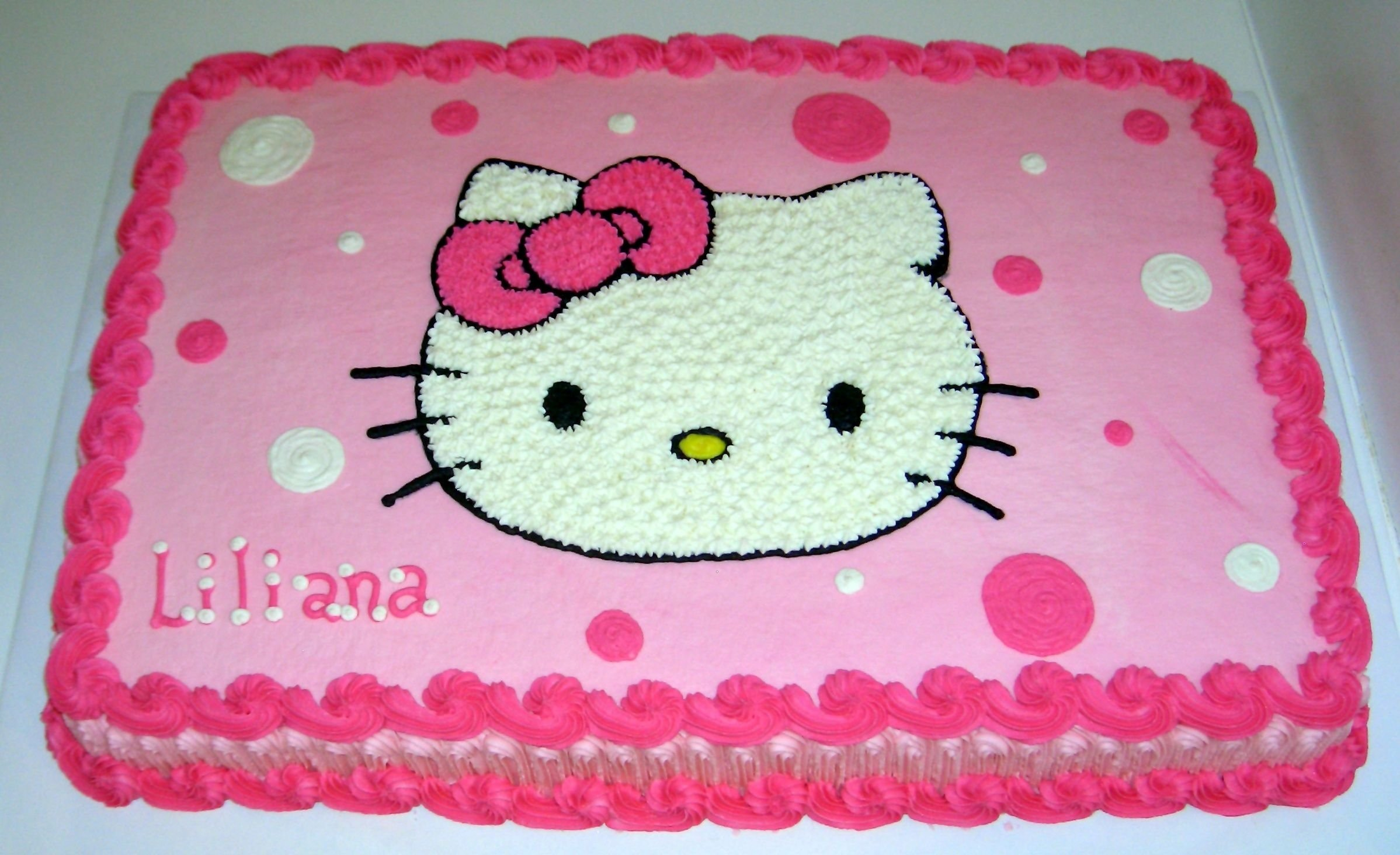 hello kitty birthday cake | cake gallery :: birthday cakes