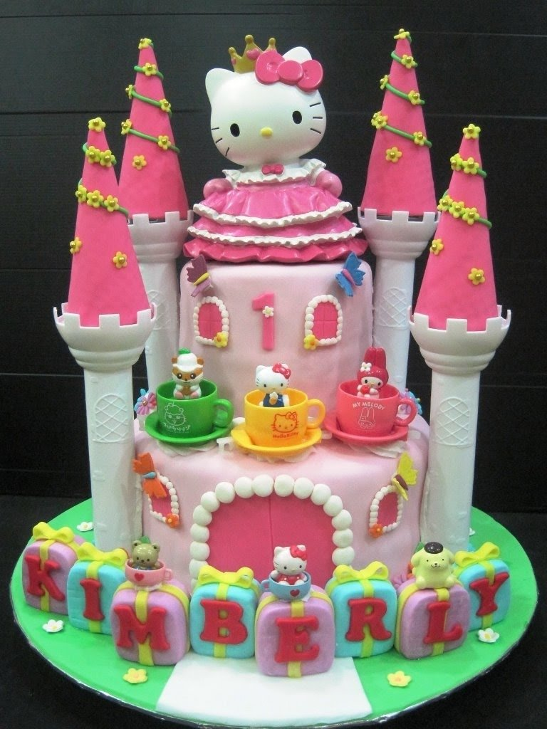 hello kitty - birthday cake - youtube