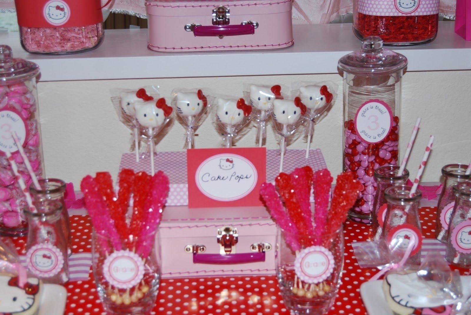 10 Unique Hello Kitty Party Decoration Ideas hello kitty birthday party ideas home sweet home place graces 2021