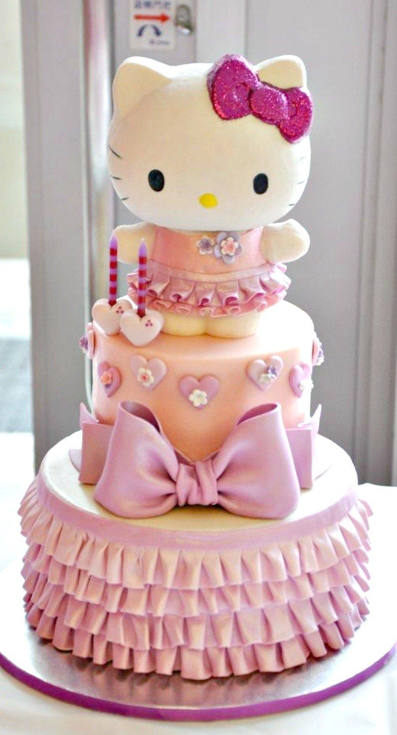 10 Unique Hello Kitty Birthday Cake Ideas hello kitty cake cakes and cupcakes for kids birthday party 2020