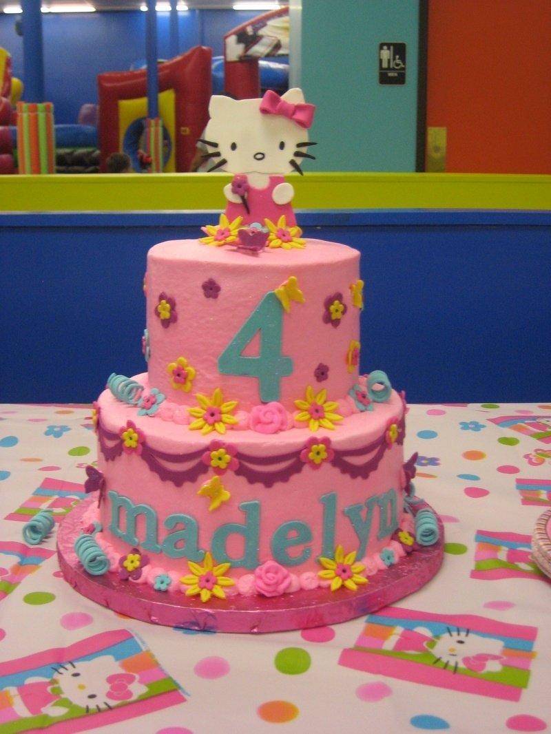 10 Unique Hello Kitty Birthday Cake Ideas hello kitty cakes decoration ideas little birthday cakes 1 2020