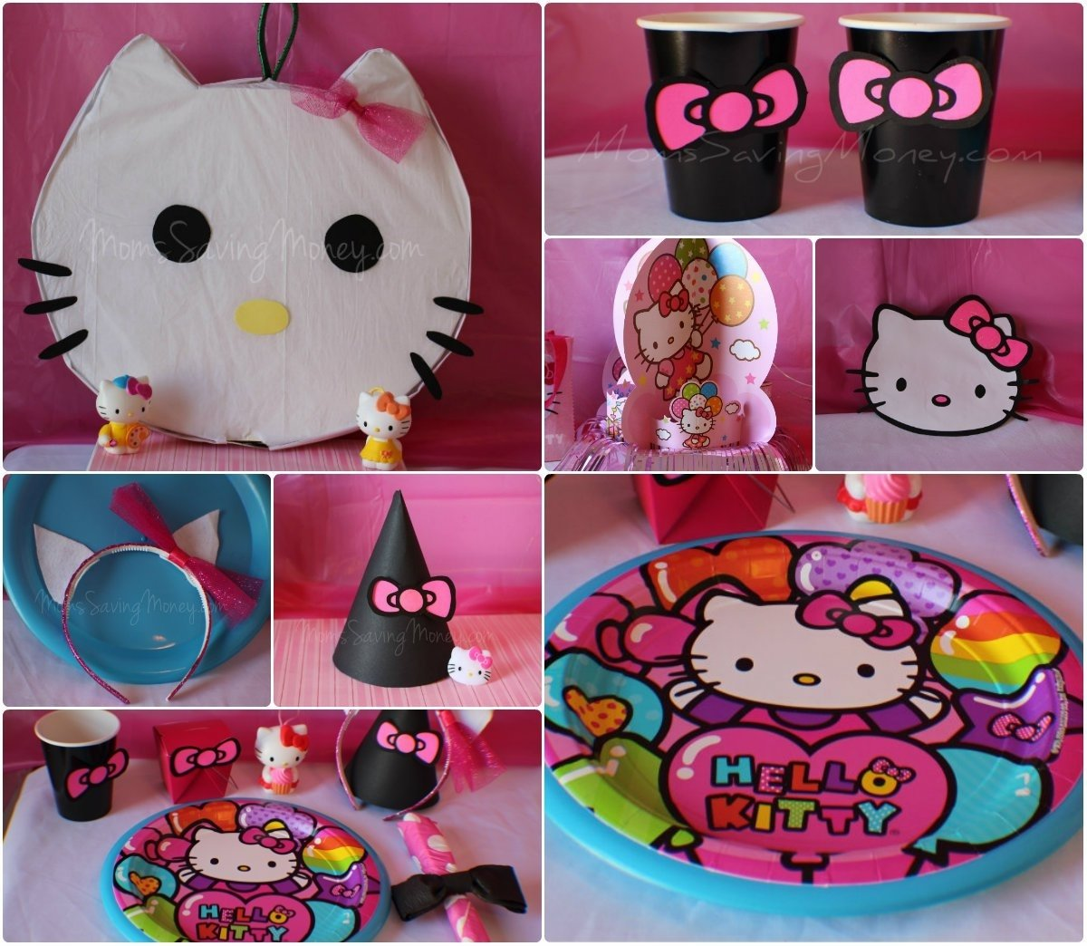 10 Unique Hello Kitty Party Decoration Ideas hello kitty party ideas rebecca autry creations 2 2021