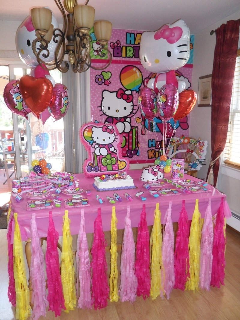 10 Spectacular Hello Kitty Party Decorations Ideas hello kitty party party decorationsteresa 1 & 10 Spectacular Hello Kitty Party Decorations Ideas