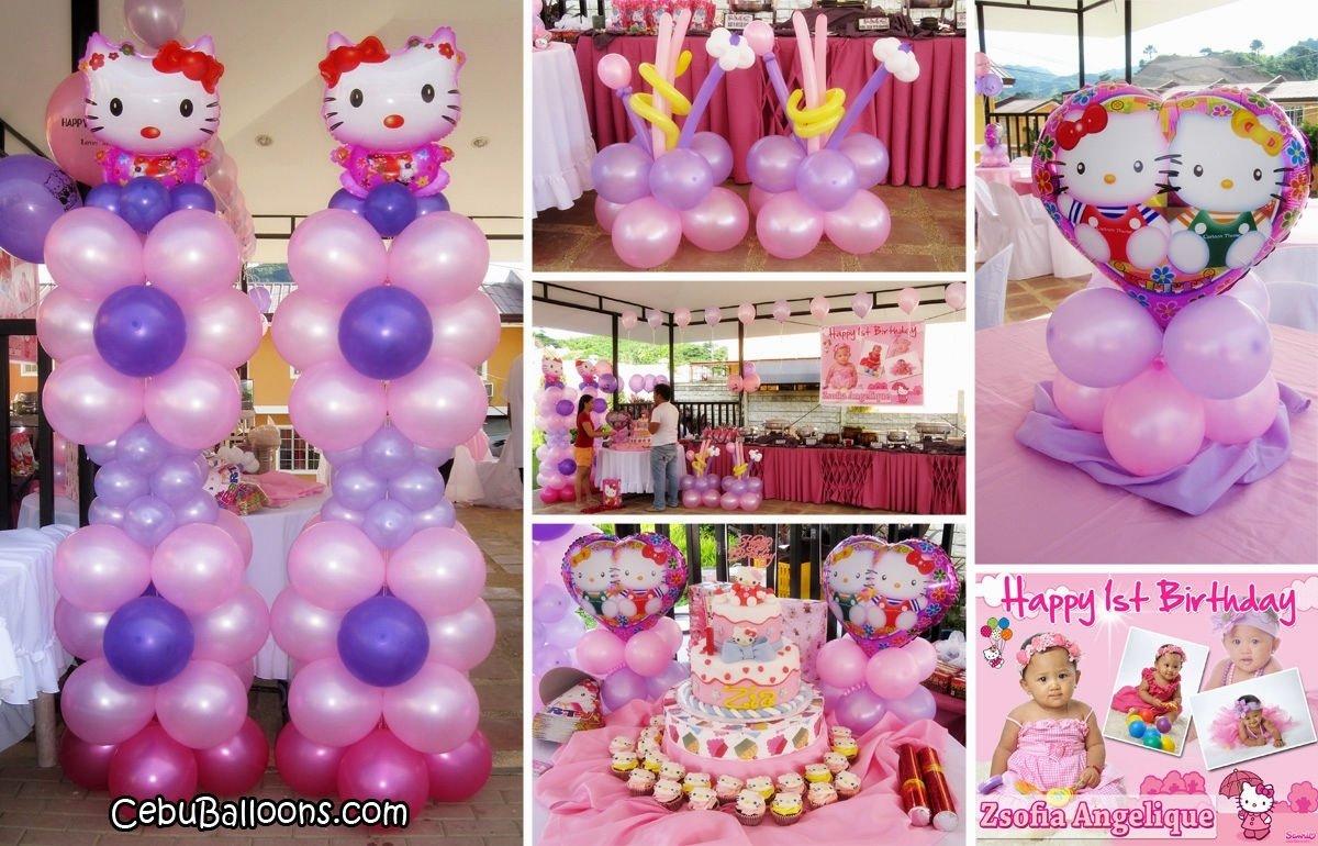 10 Unique Hello Kitty Party Decoration Ideas hello kitty party theme decorations decorating of party 2021