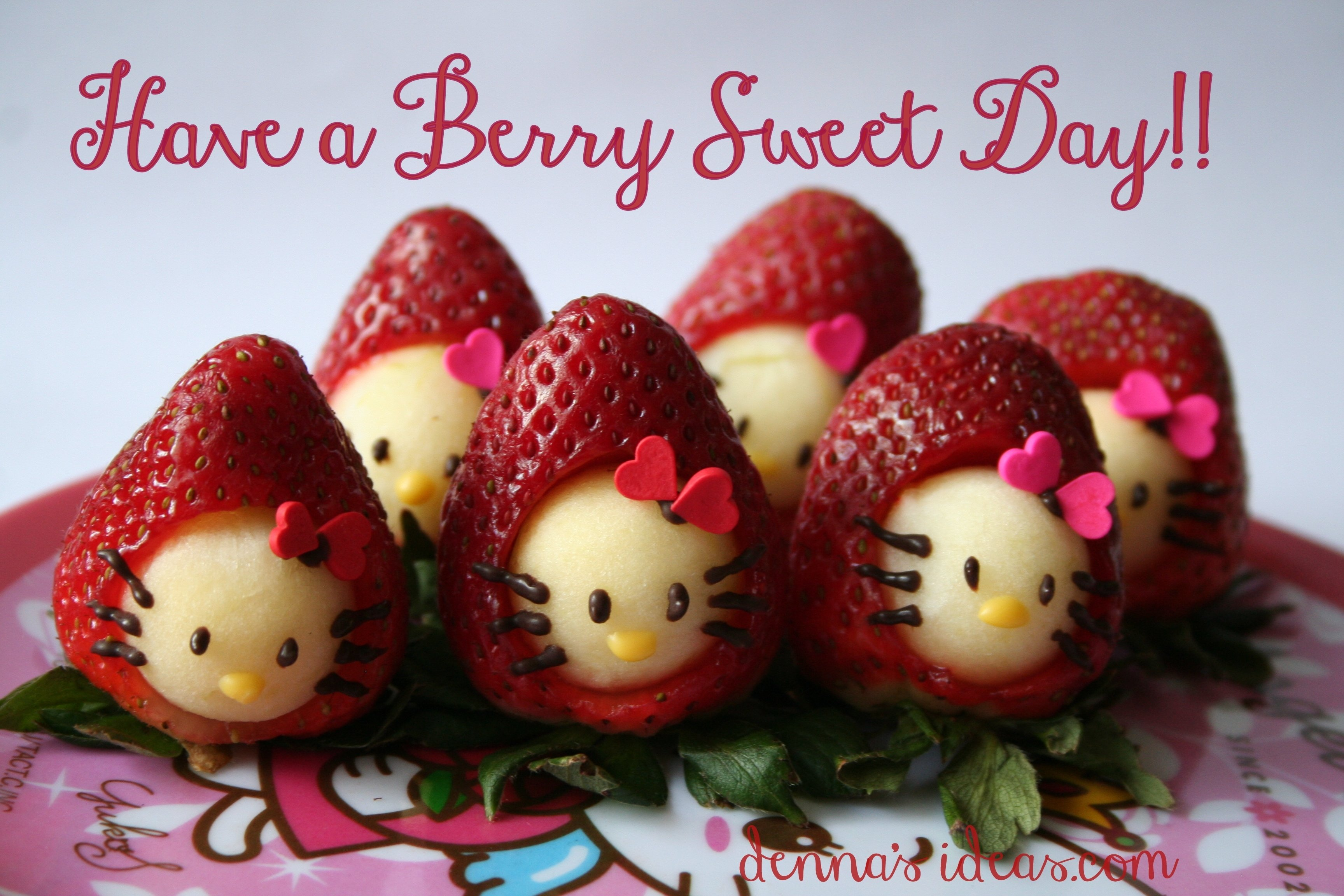 10 Attractive Hello Kitty Party Food Ideas hello kitty strawberries dennas ideas