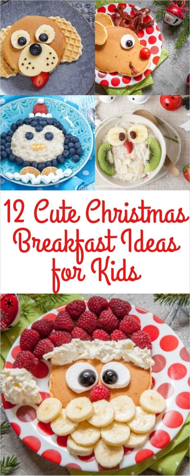 10 Stylish Easy Breakfast Ideas For Kids help the kiddos count down the 12 days to christmasmaking a 2020