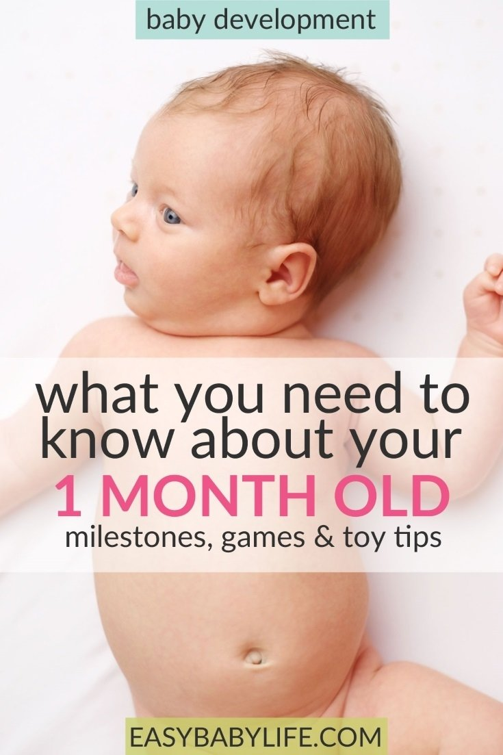 10 Unique 1 Month Baby Picture Ideas helpful guide to your 1 month old babys development milestones 2021