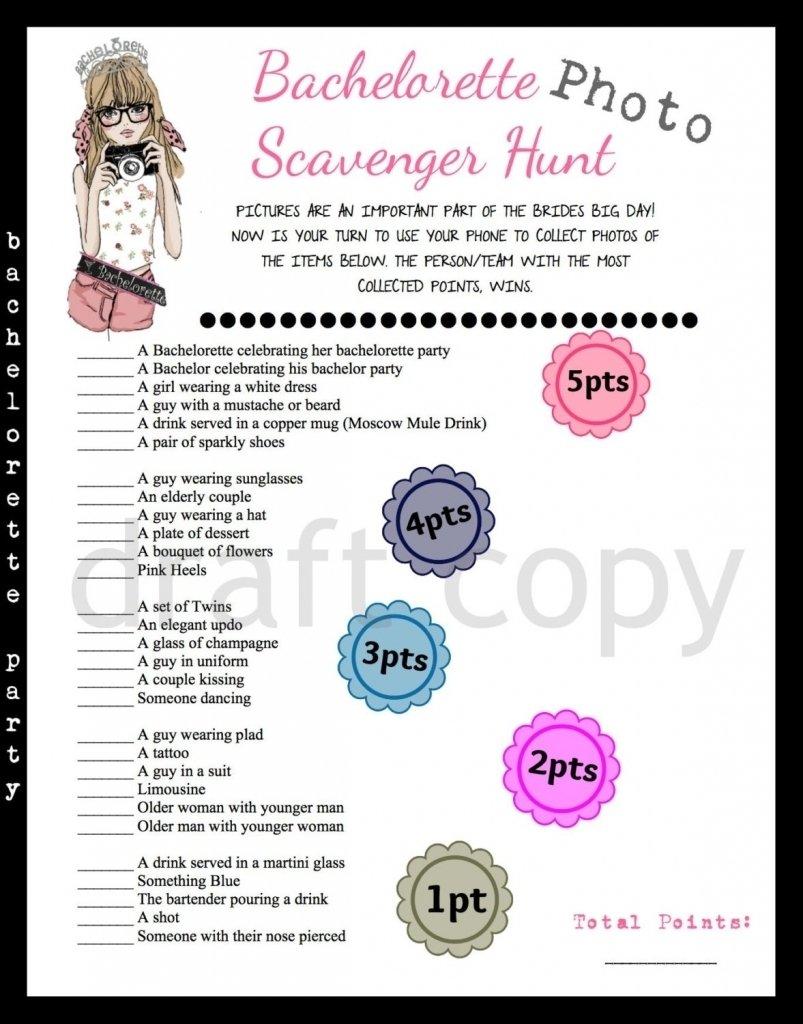 10 Great Scavenger Hunt Ideas For Bachelorette Party