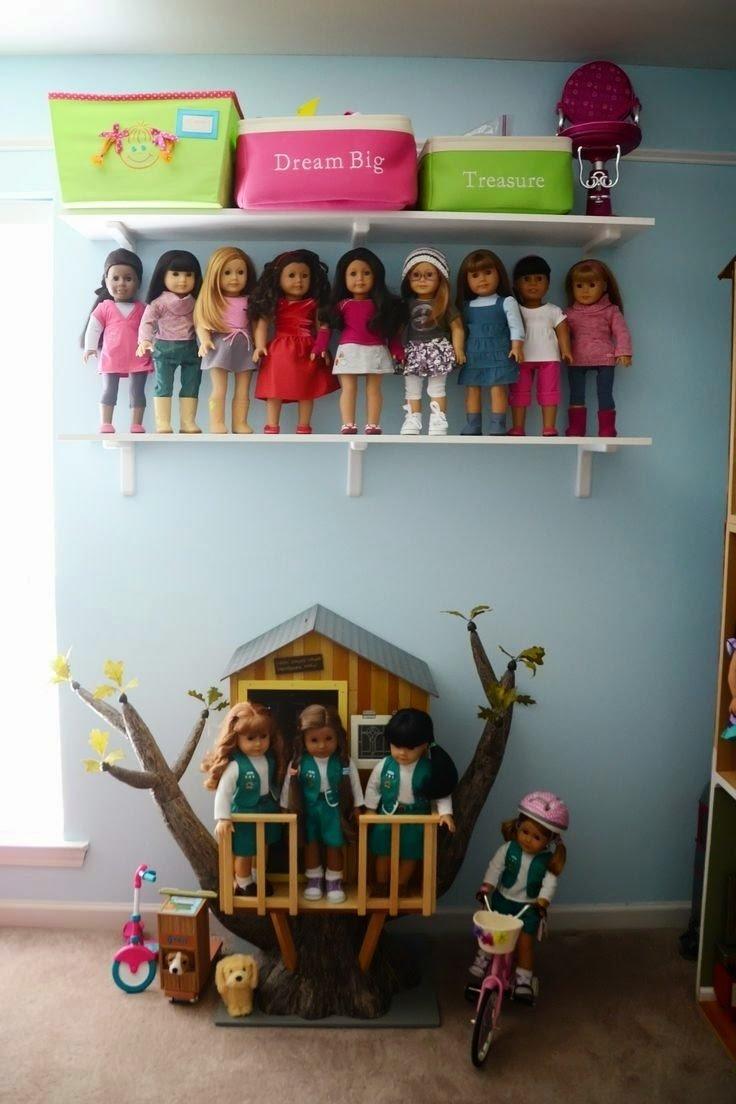 10 Spectacular American Girl Doll Storage Ideas her obsession errr my obsession doll storage clothing storage 2021