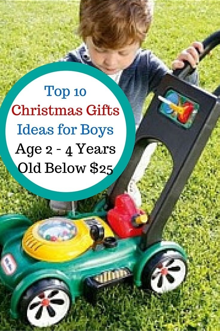 10 Nice Gift Ideas For Toddler Boys