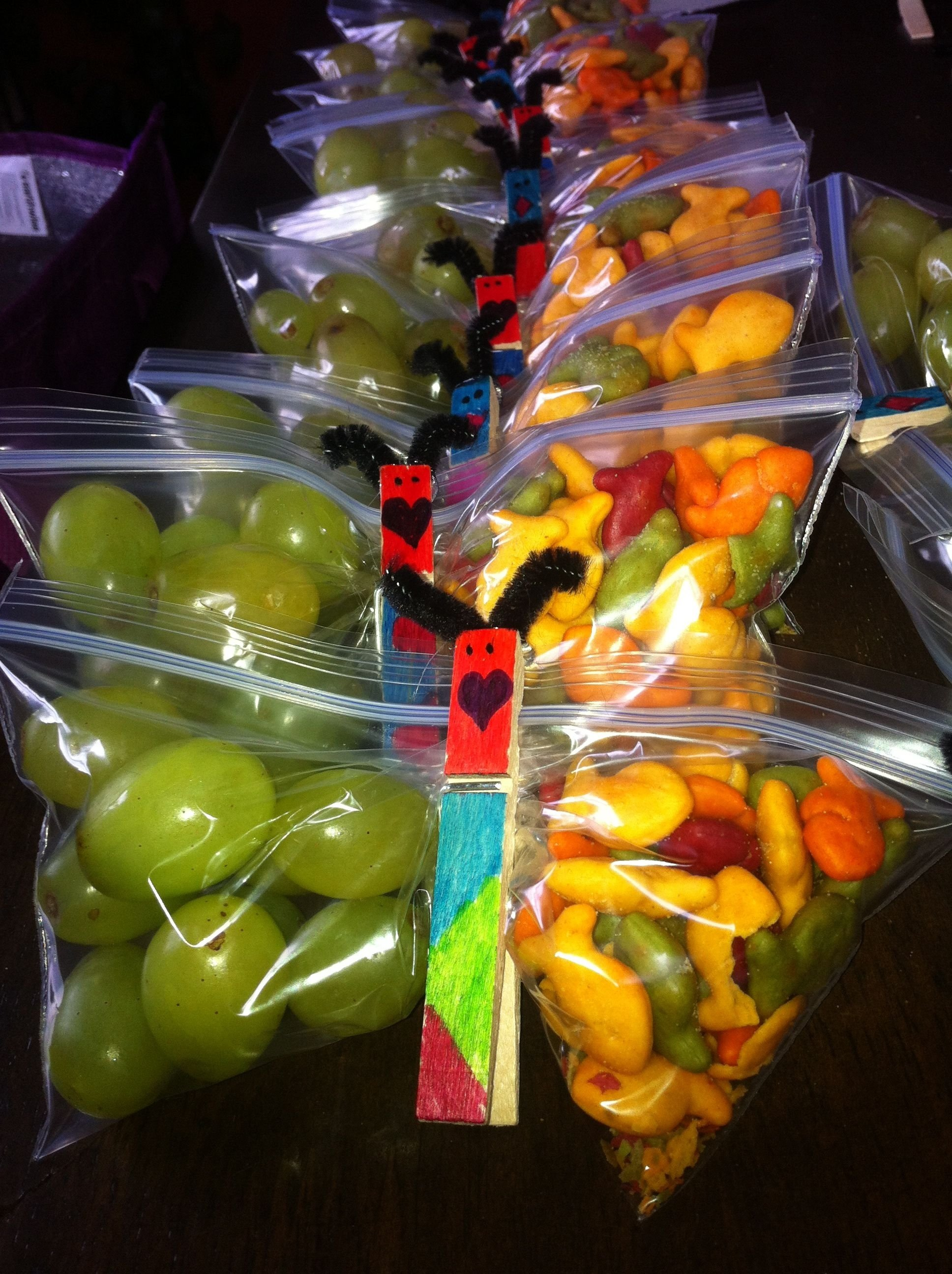 10 Attractive Snack Ideas For Kindergarten Class here is a healthy butterfly snack for your little girls class 2021