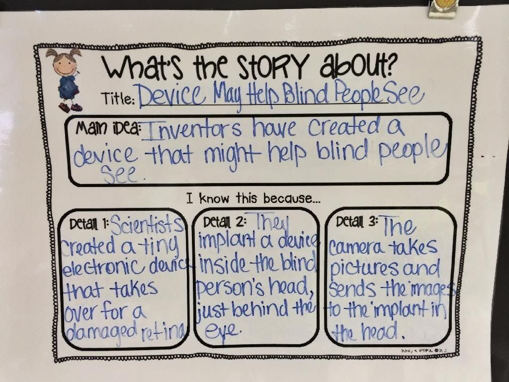 10 Fantastic What Is A Main Idea Of A Story hi everyone i wanted to stop in and share some ideas about 7