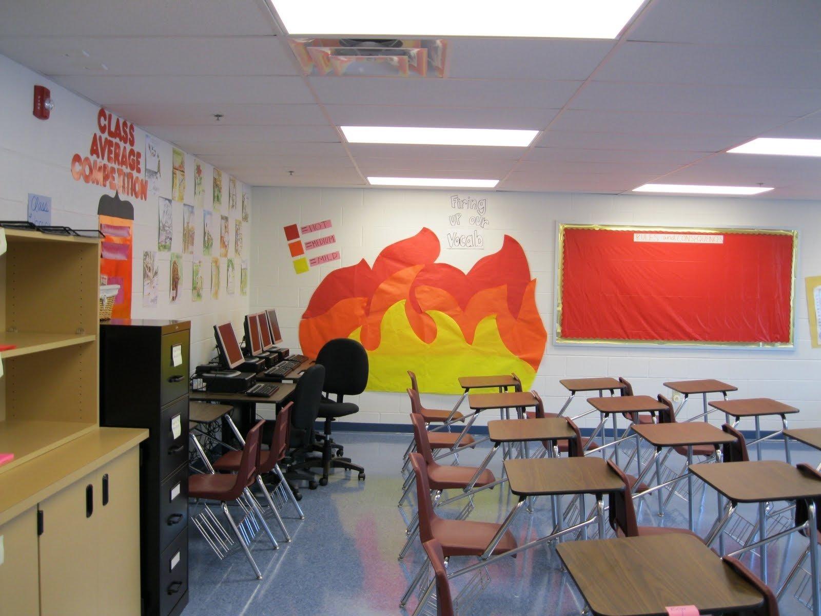 10 Beautiful High School Classroom Decorating Ideas 2019
