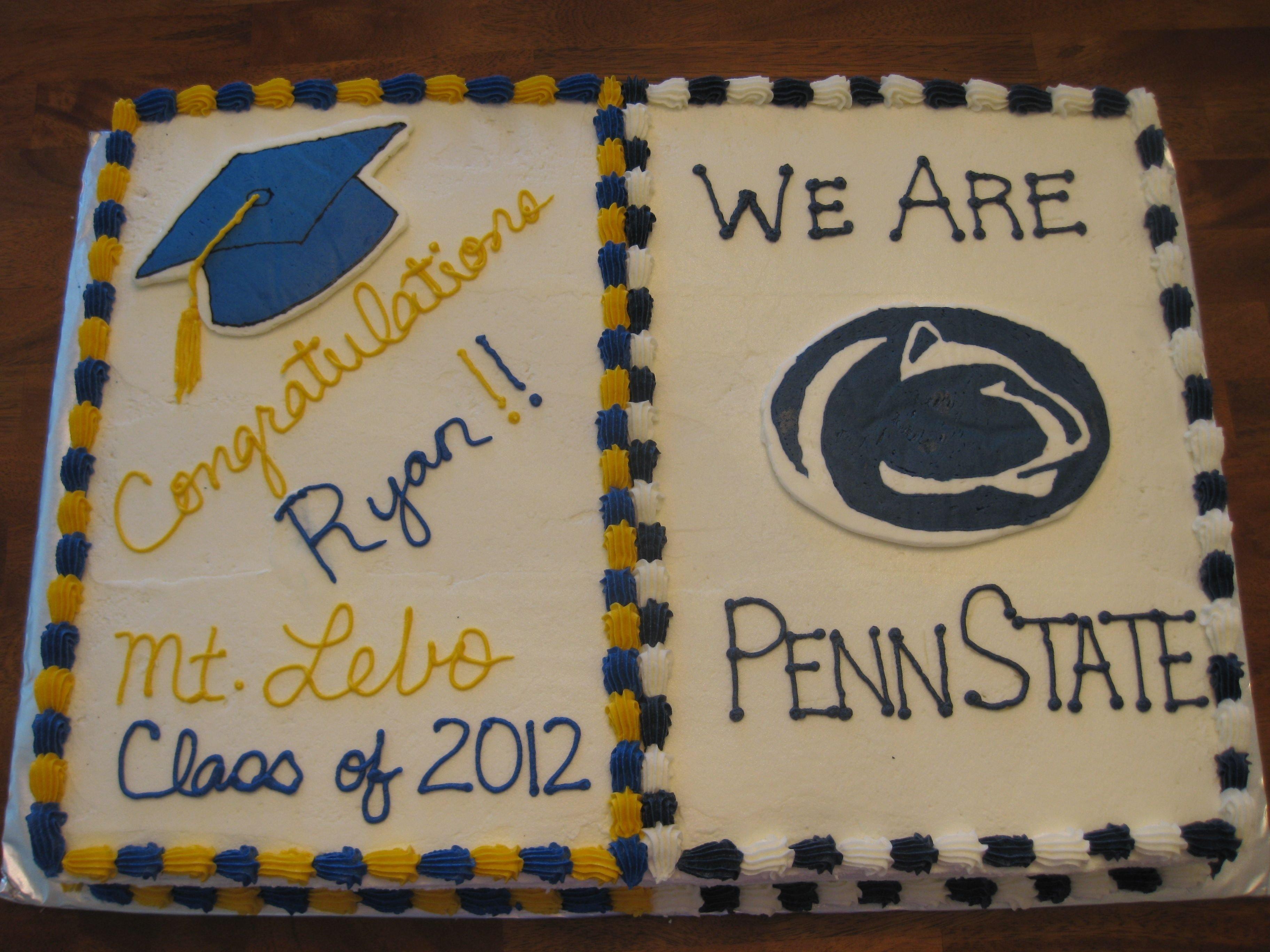 Most popular high school graduation cake ideas