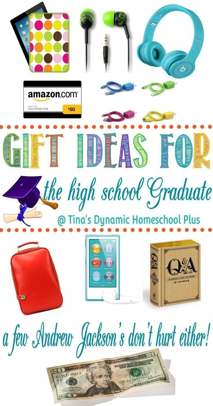 10 Ideal Graduation Gift Ideas For High School Seniors high school graduation gift ideas high school graduation gifts 2 2020