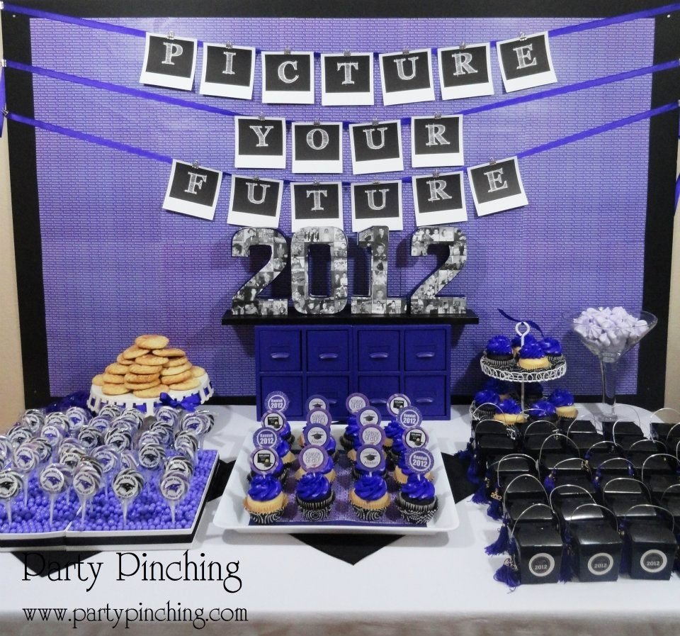 10 Pretty High School Open House Ideas high school graduation open house party party pinching 2021