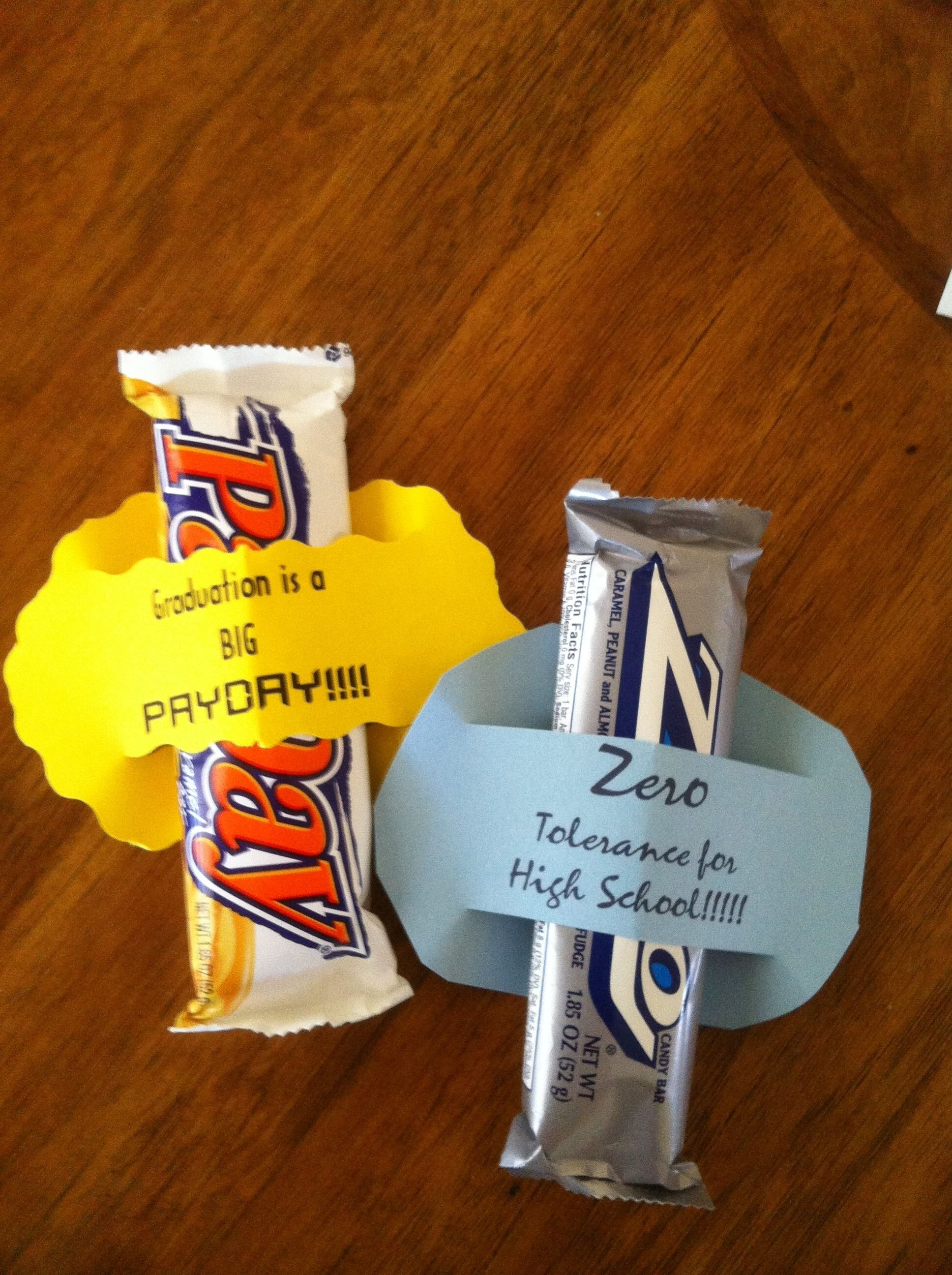 high school graduation party favor | party ideas | pinterest