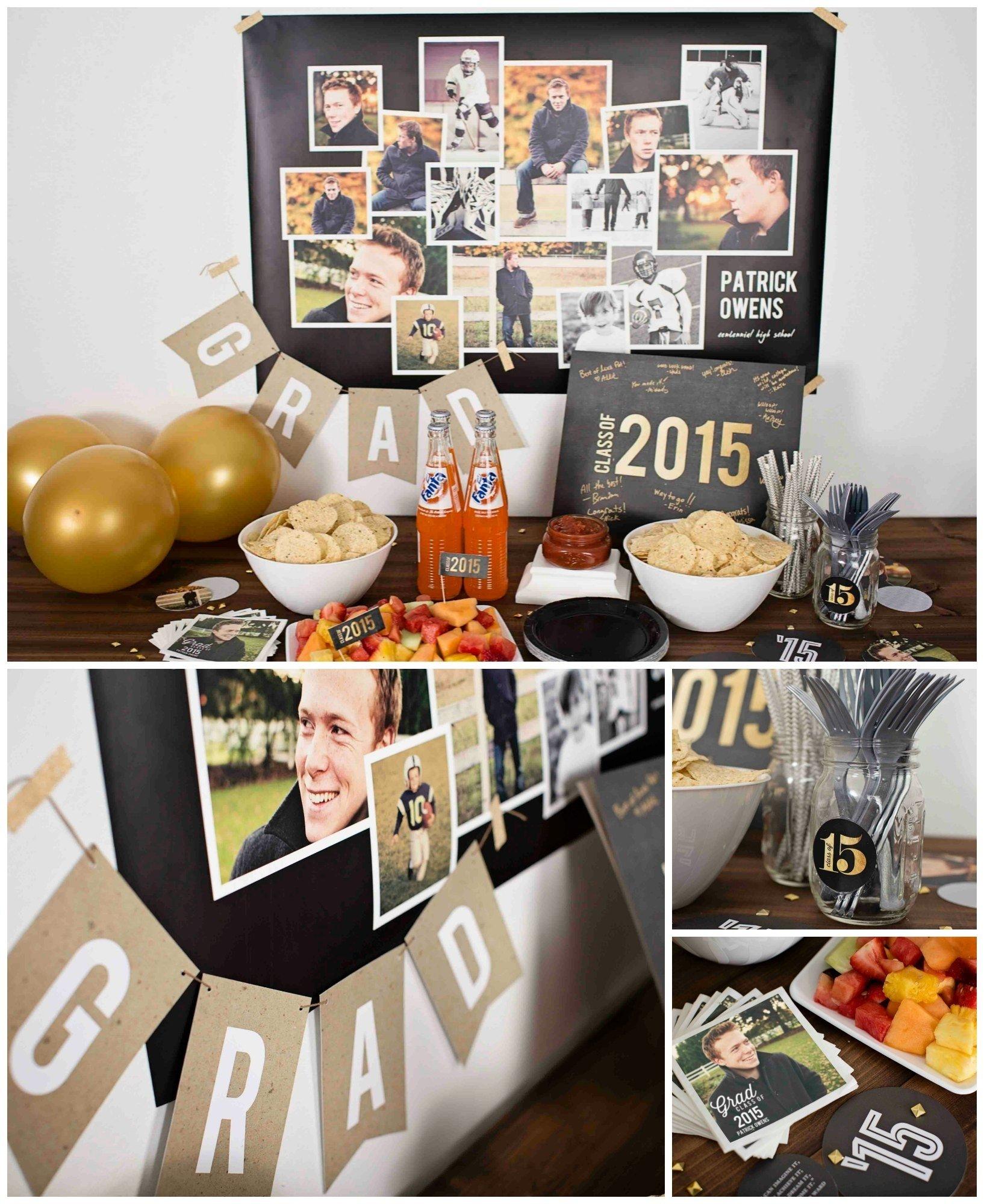 10 Best High School Graduation Party Ideas For Boys high school graduation party ideas for guys classic graduation party 1 2020