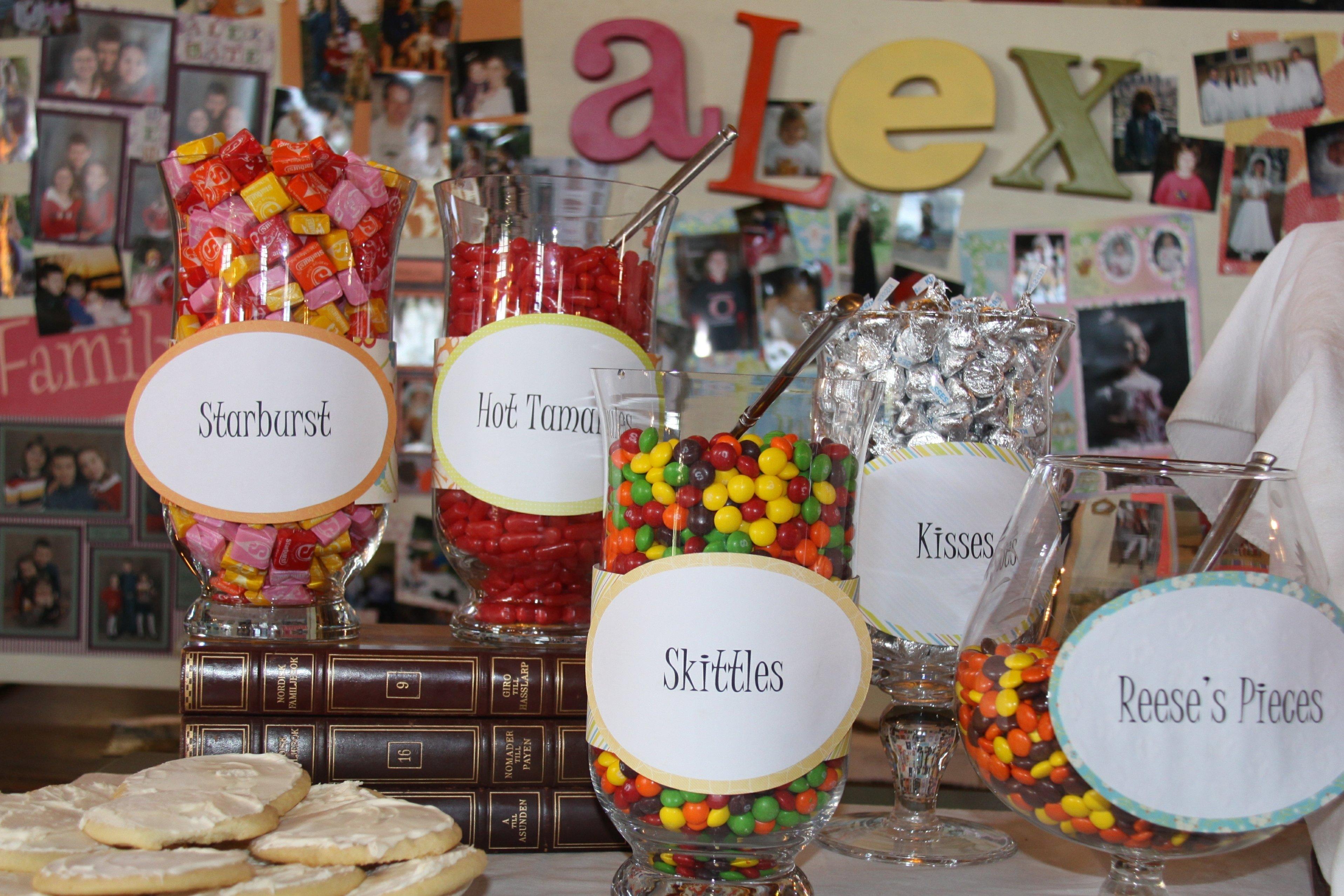 10 Fabulous Food Ideas For Graduation Party high school graduation party ideas graduation party food ideas 1