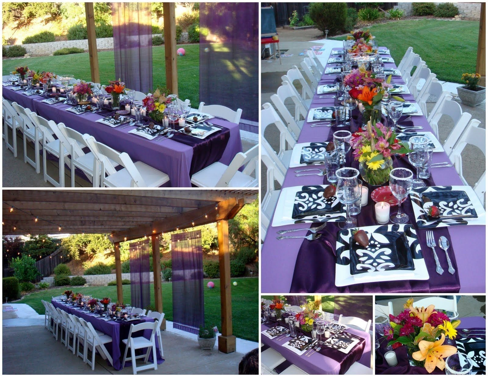 10 Pretty College Graduation Party Ideas For Adults high school graduation party ideas summer graduation party 1