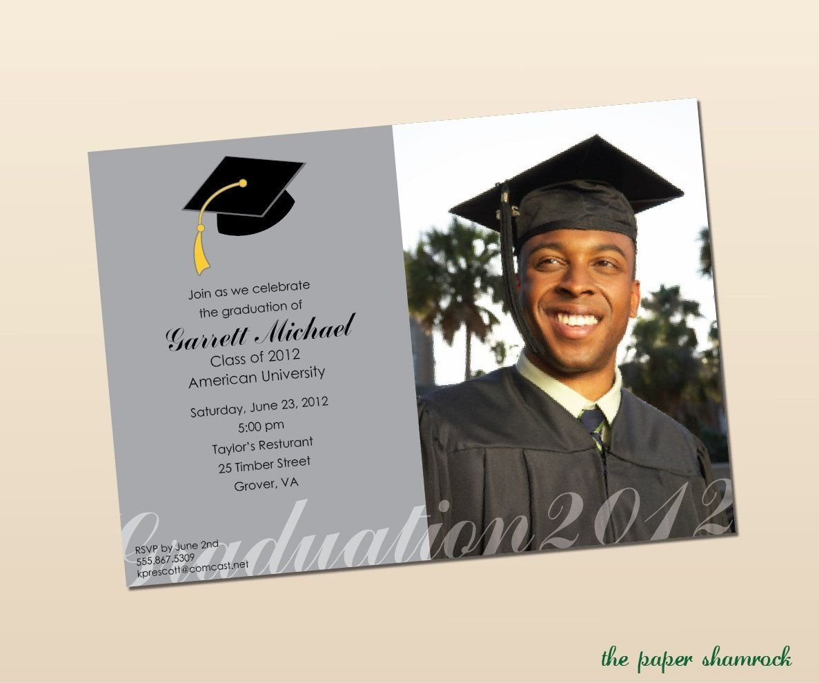 10 Unique High School Graduation Announcement Ideas high school graduation party menu high school graduation party