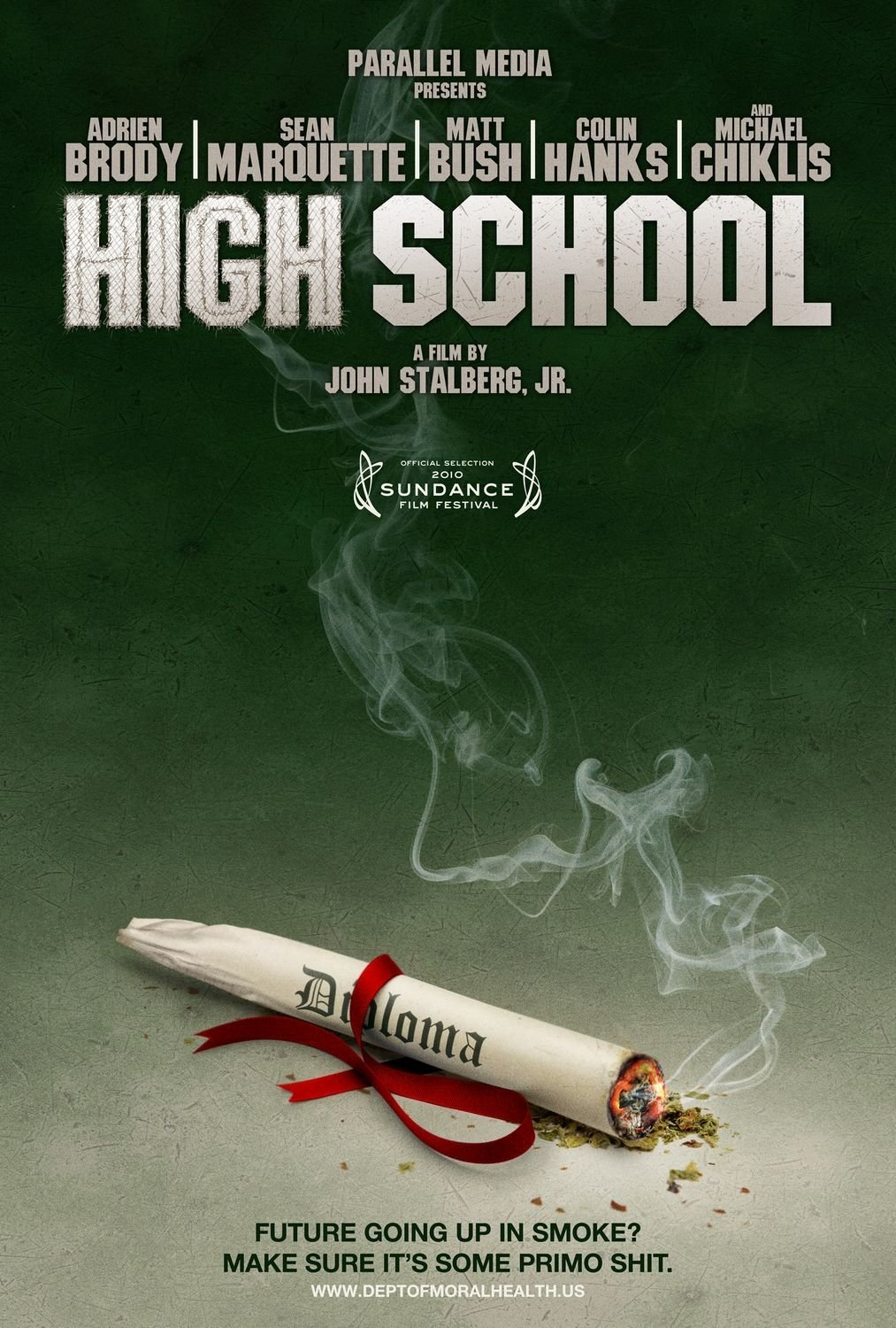 high school movie poster (#1 of 4) - imp awards
