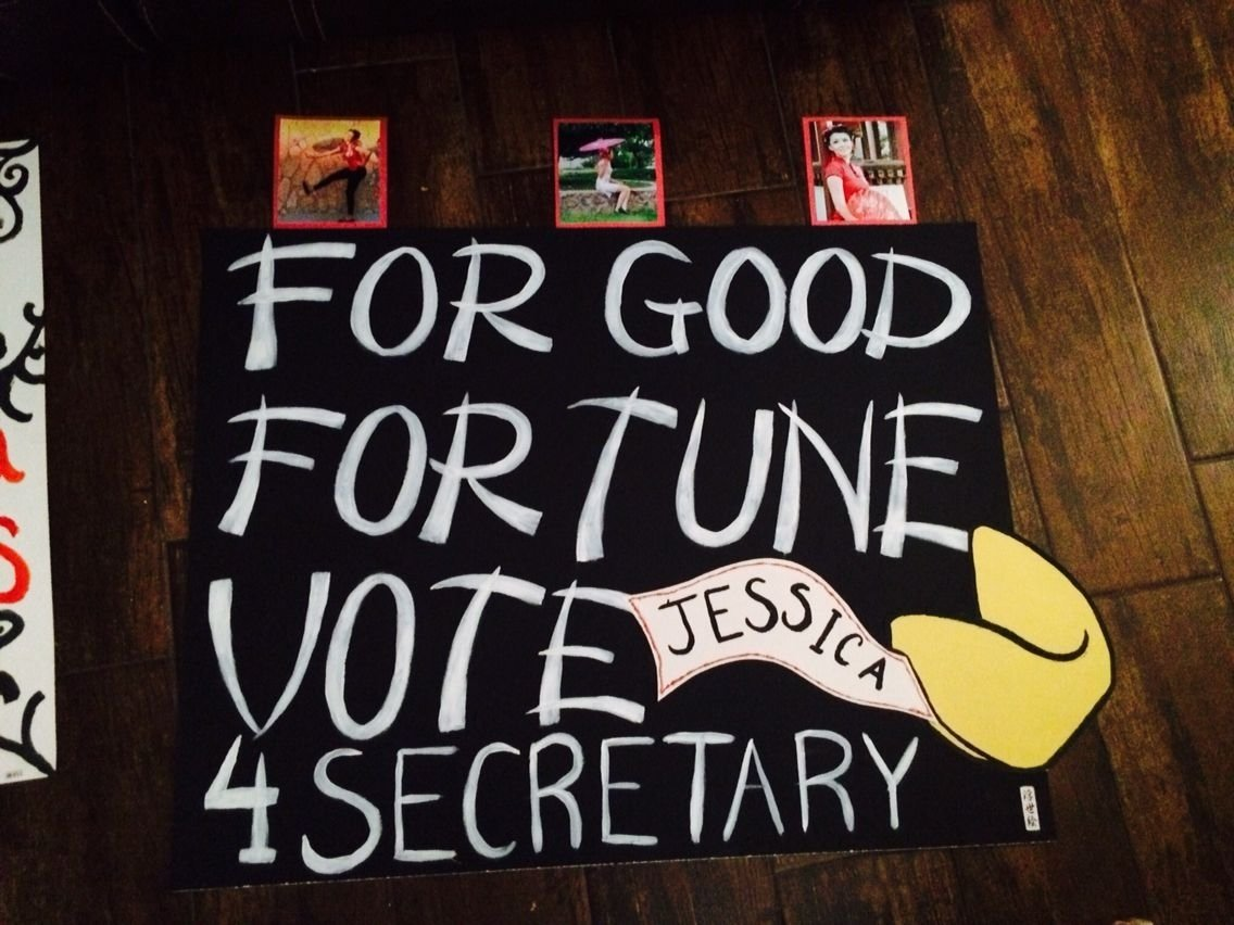 10 Cute Campaign Ideas For High School high school poster ideas for elections running for secretary 1 2020