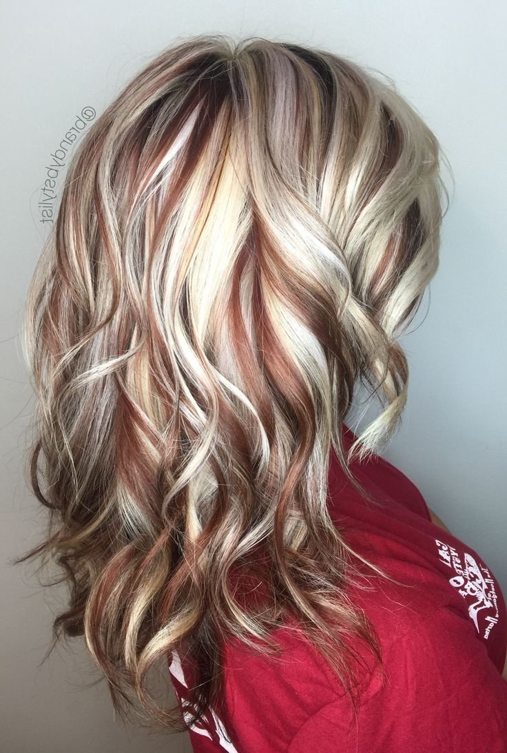 10 Most Recommended Red And Blonde Hair Ideas highlights and lowlights for strawberry blonde hair 1000 ideas 3 2020