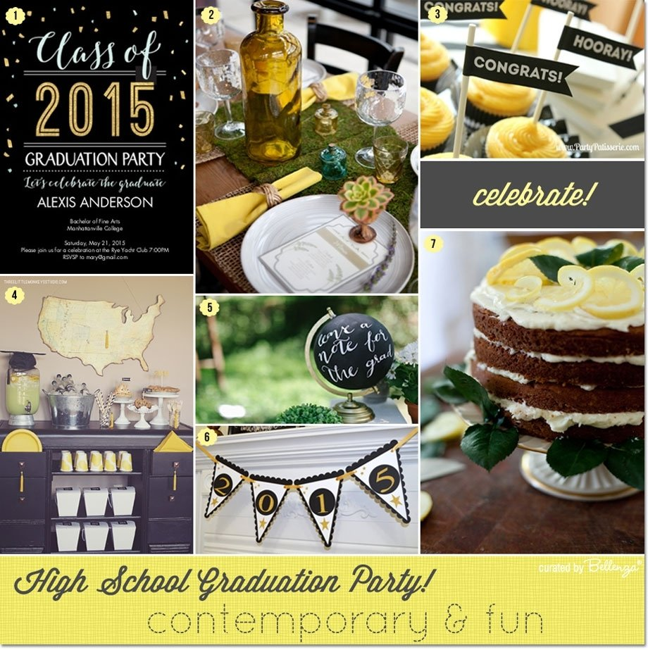 10 Beautiful Ideas For High School Graduation Party highschoolgraduationparty 1 2020