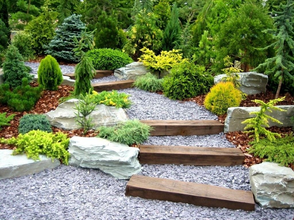 hillside landscaping ideas on small budget | small japanese garden
