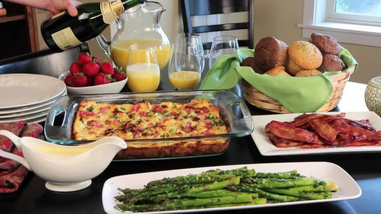 10 Pretty Breakfast Ideas For Work Party holiday brunch easy and elegant christmas breakfast allrecipes 1