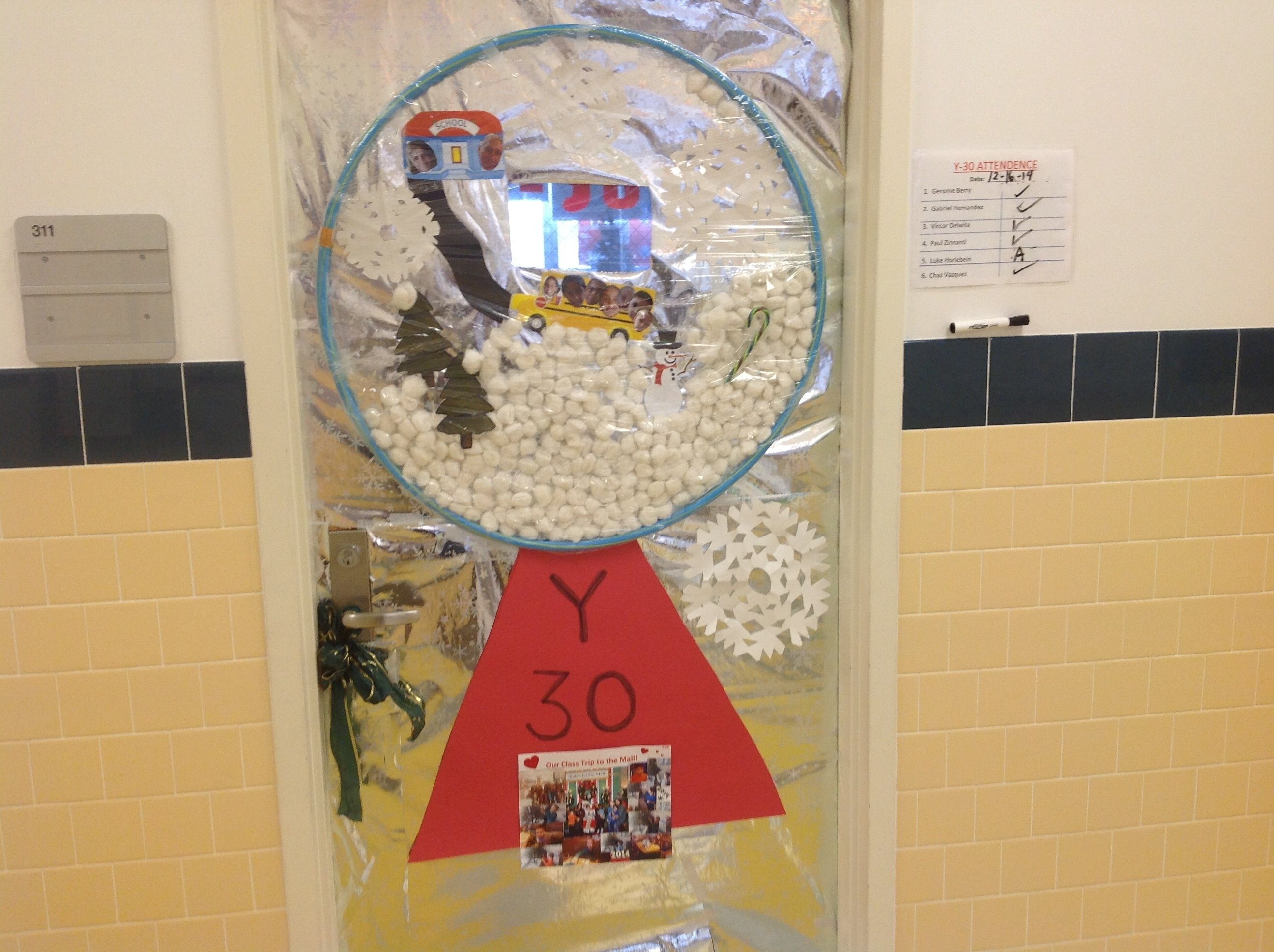 10 Gorgeous Classroom Christmas Door Decorating Contest Ideas holiday door decorating contest adventures in speech at p373 at ps48 2020