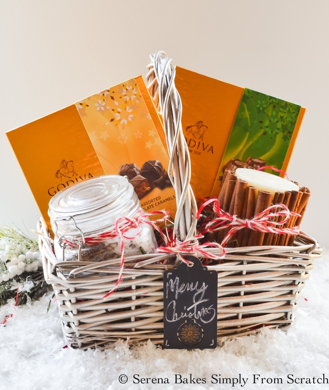 10 Attractive Homemade Christmas Gift Baskets Ideas holiday gift basket ideas serena bakes simply from scratch 1 2020