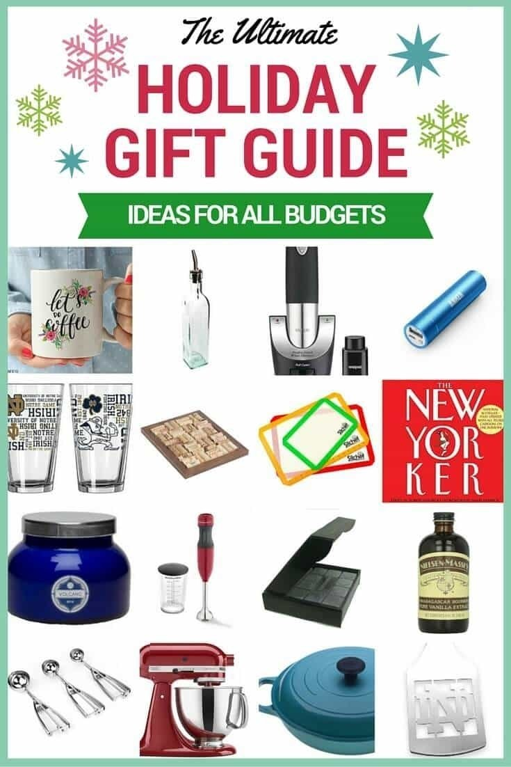 10 Lovable Secret Santa Gift Ideas For Guys holiday gift guide 2015 ideas for all budgets well platederin 2021
