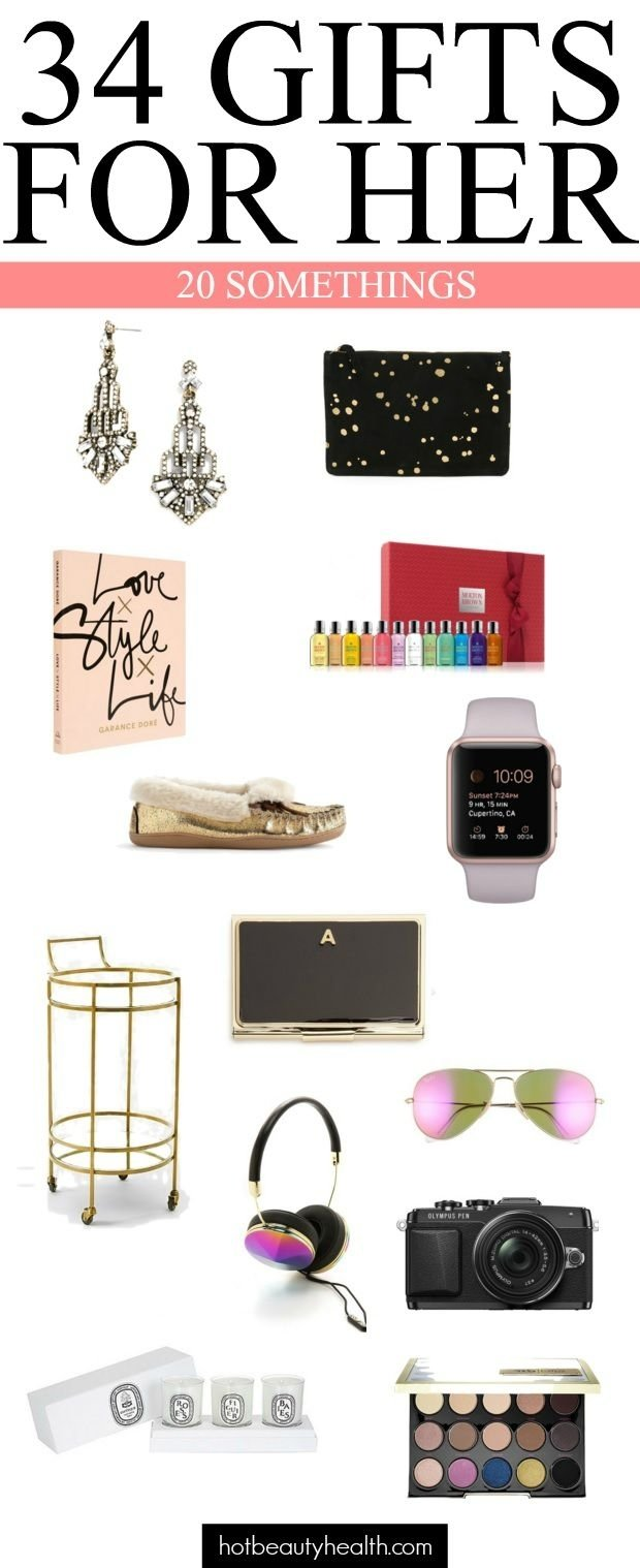 holiday gift guide: gifts for 20 somethings | easy gifts, aunt and gift