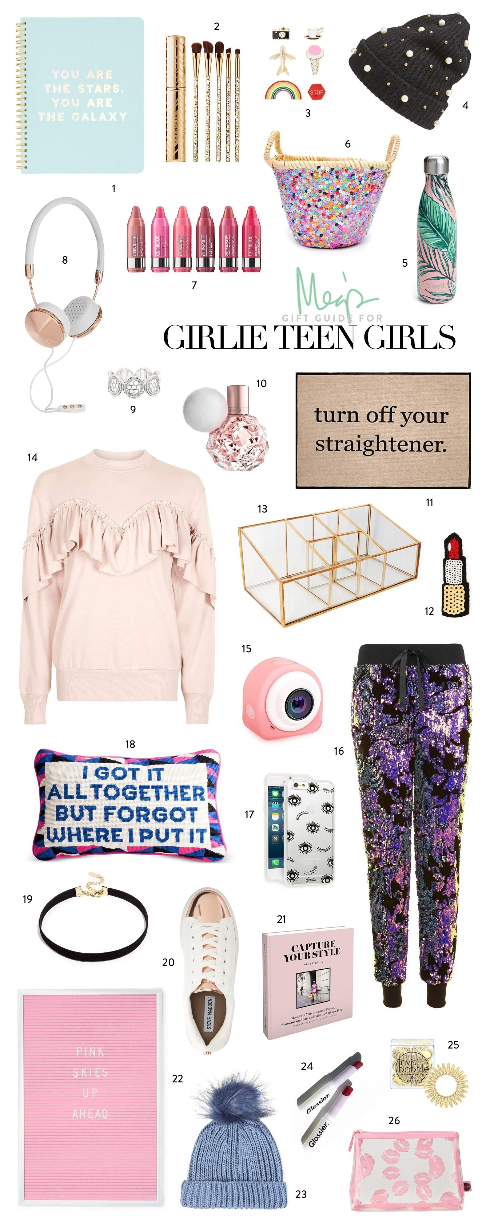10 Attractive Tween Gift Ideas For Girls holiday gift guide girlie teen girls holiday gift guide teen 31 2020