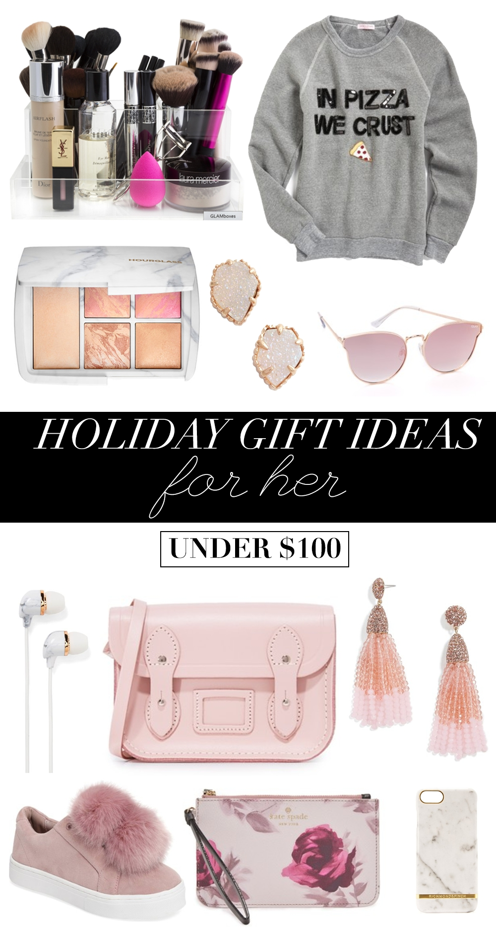10 Fabulous Christmas Present Ideas For Her holiday gift ideas for her under 100 money can buy lipstick 2020