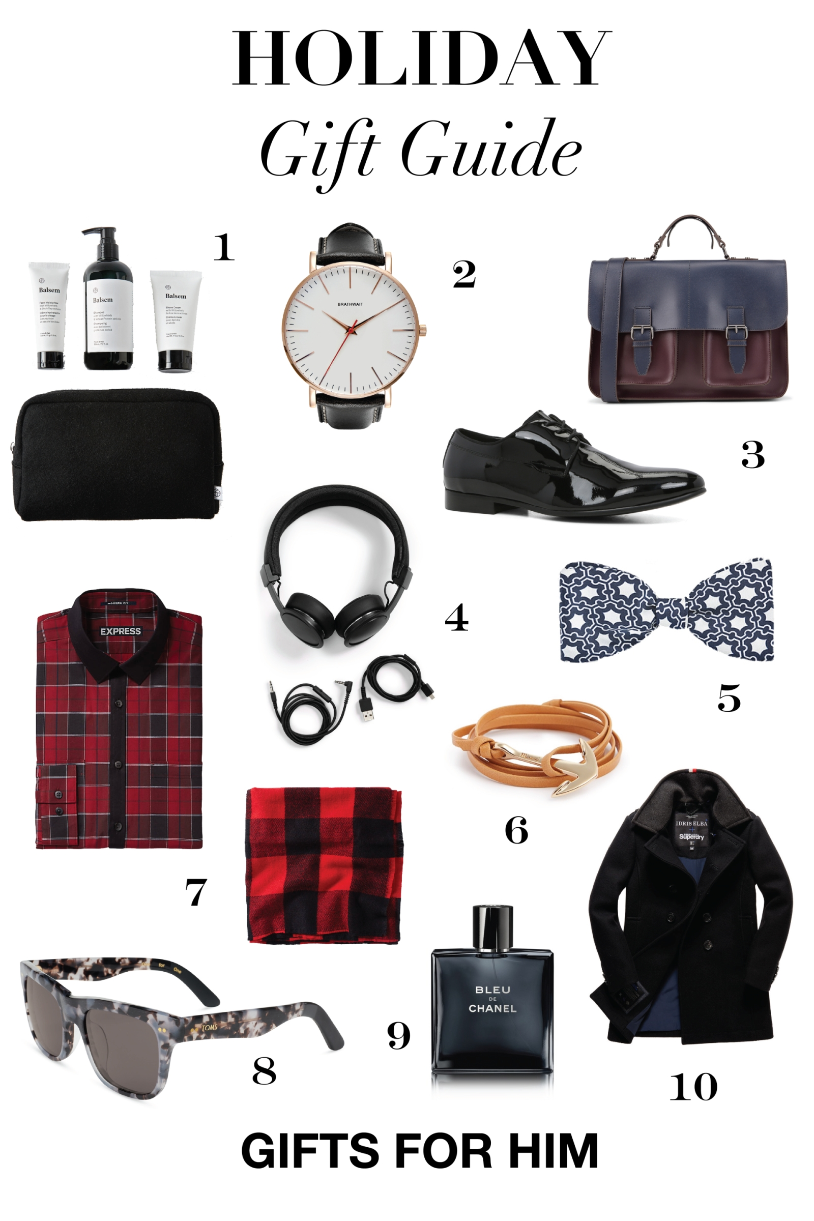 holiday gifts for men | alexanderliang