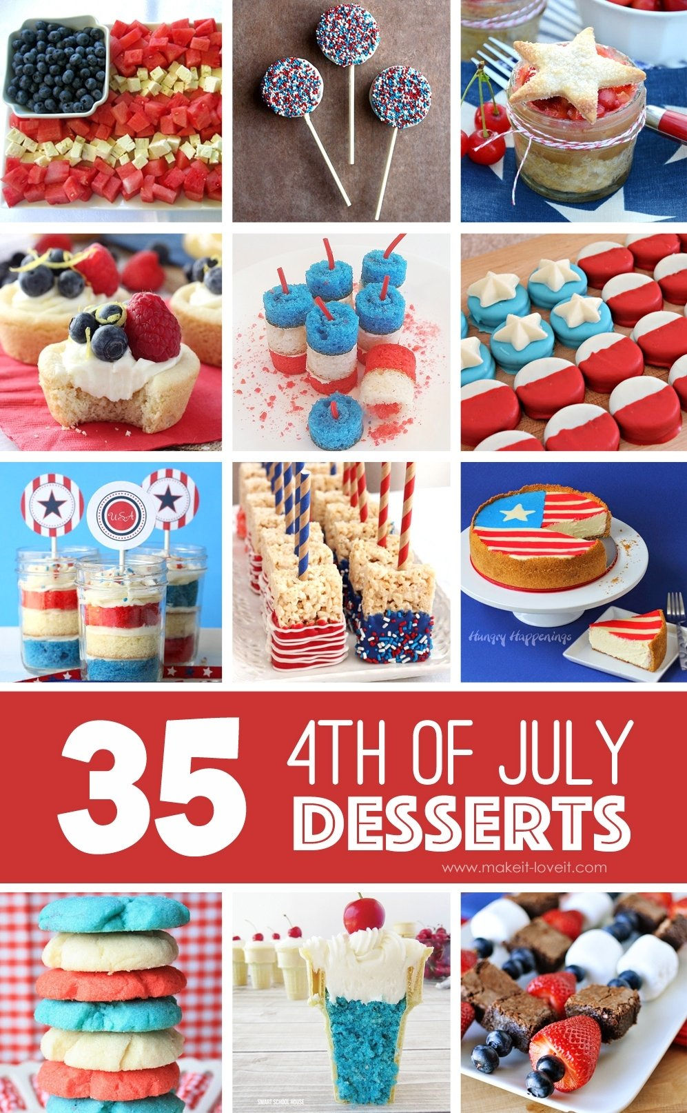 10 Stylish 4Th Of July Baking Ideas holiday make it and love it