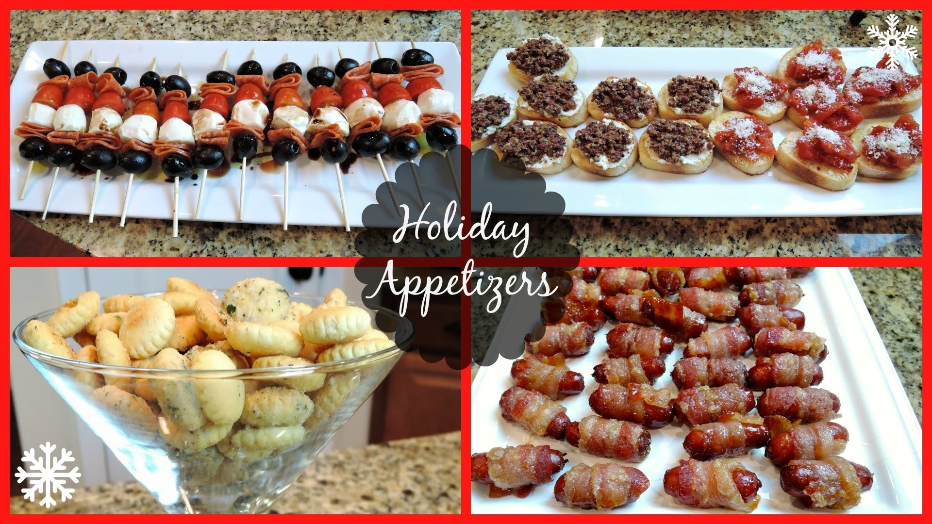 10 Trendy Christmas Cocktail Party Menu Ideas holiday party appetizers youtube 2020