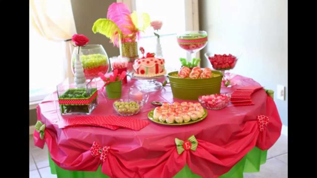 10 Perfect Table Decoration Ideas For Parties home birthday party table decoration ideas youtube