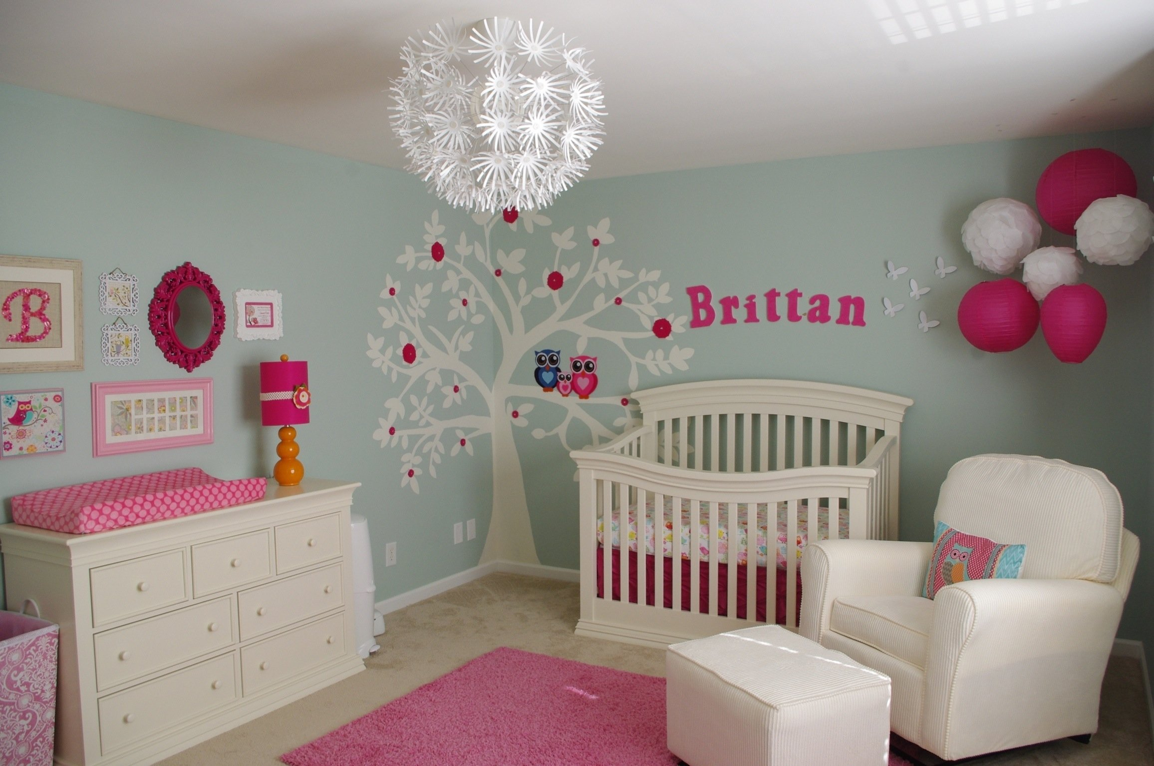 10 Most Recommended Ideas For Baby Girl Room home decor baby nursery decorate girl room ideas cute pinterest 3
