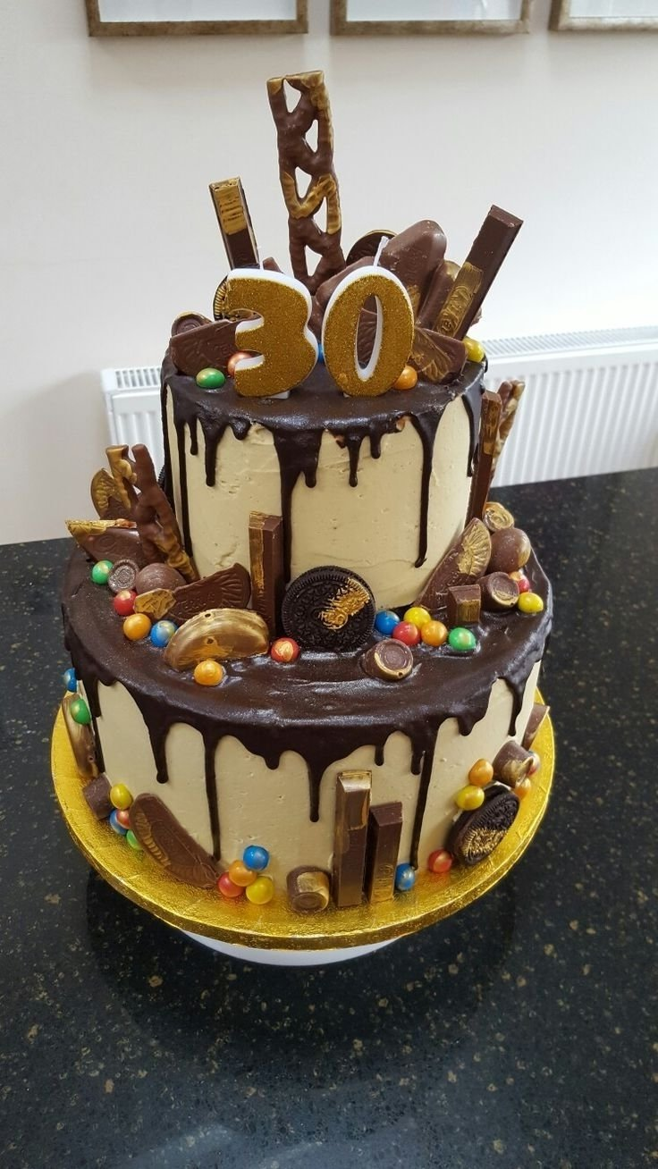 10 Cute Birthday Cakes For Men Ideas