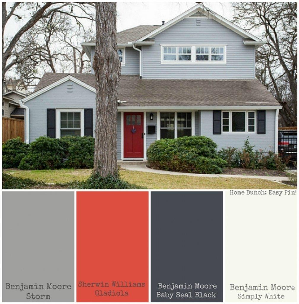 10 Lovable Benjamin Moore Exterior Paint Ideas home exterior paint color schemes exterior home paint color ideas 2020