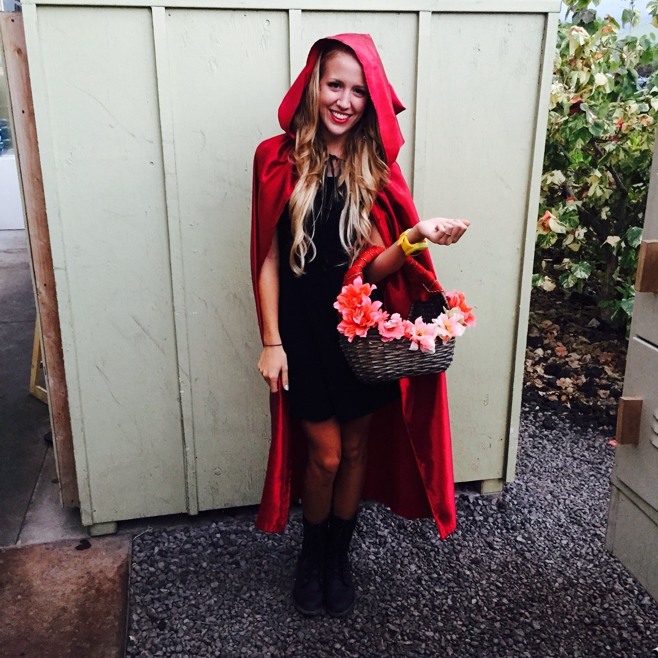 home made little red riding hood costume diy. | diy projects