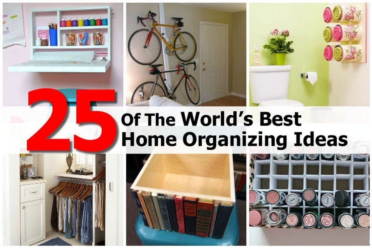 10 Spectacular Organizing Ideas For Small Spaces home organization tips for small spaces gouldsflorida unique home 2021