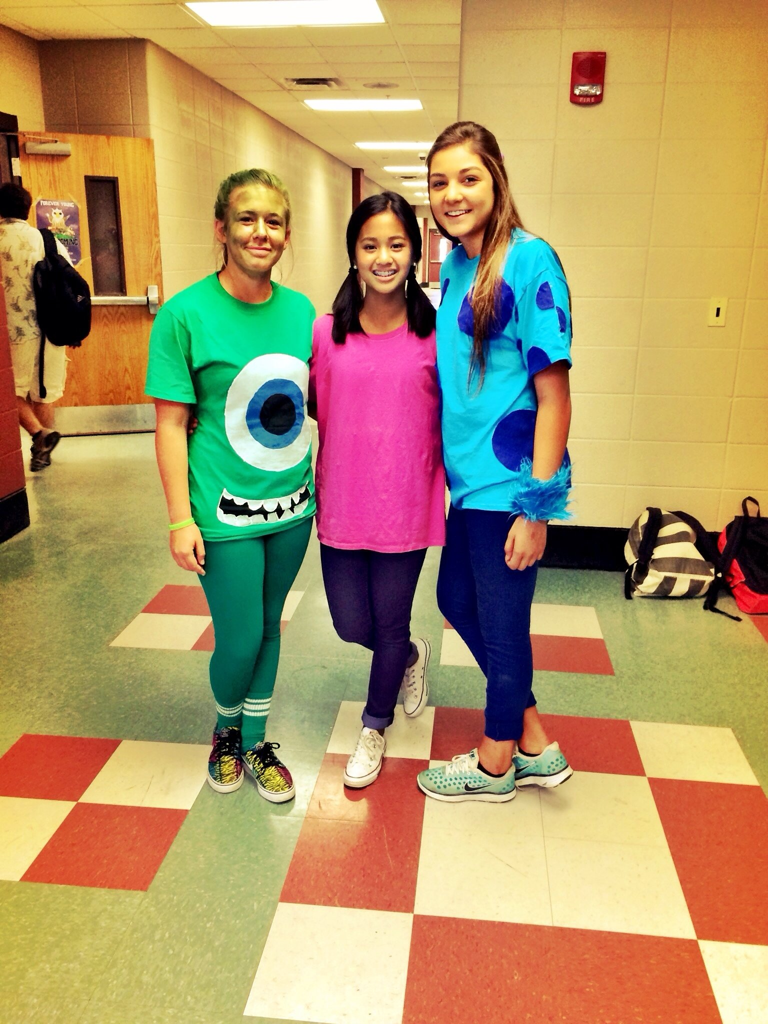 10 Perfect Character Day Ideas For Spirit Week homecoming day 3 dynamic duo boo sully and mike homecoming 2020