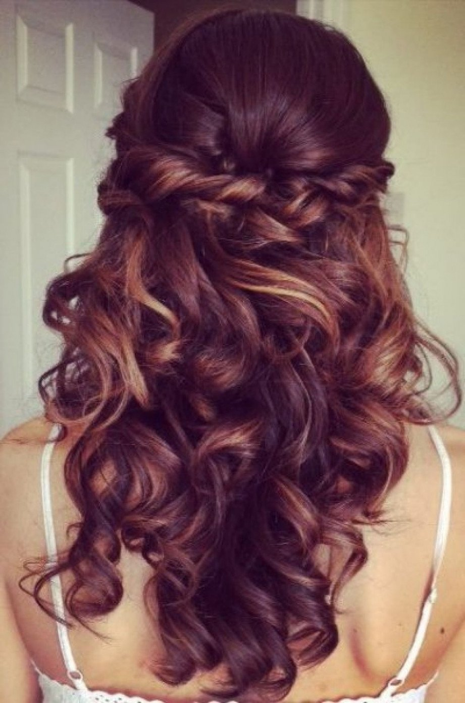 10 Most Recommended Homecoming Hair Ideas For Long Hair homecoming hairstyles for long hair waterfall braid with mermaid